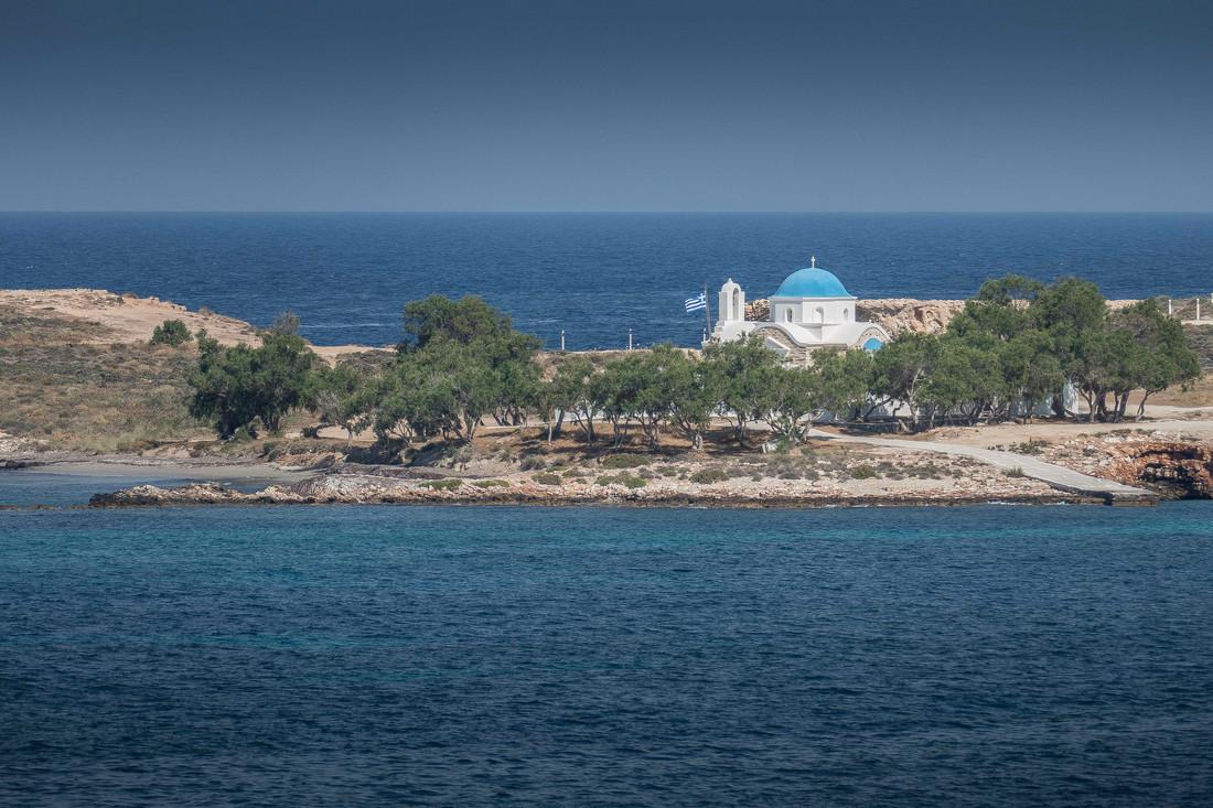 La chapelle sur la mer, Cyclades