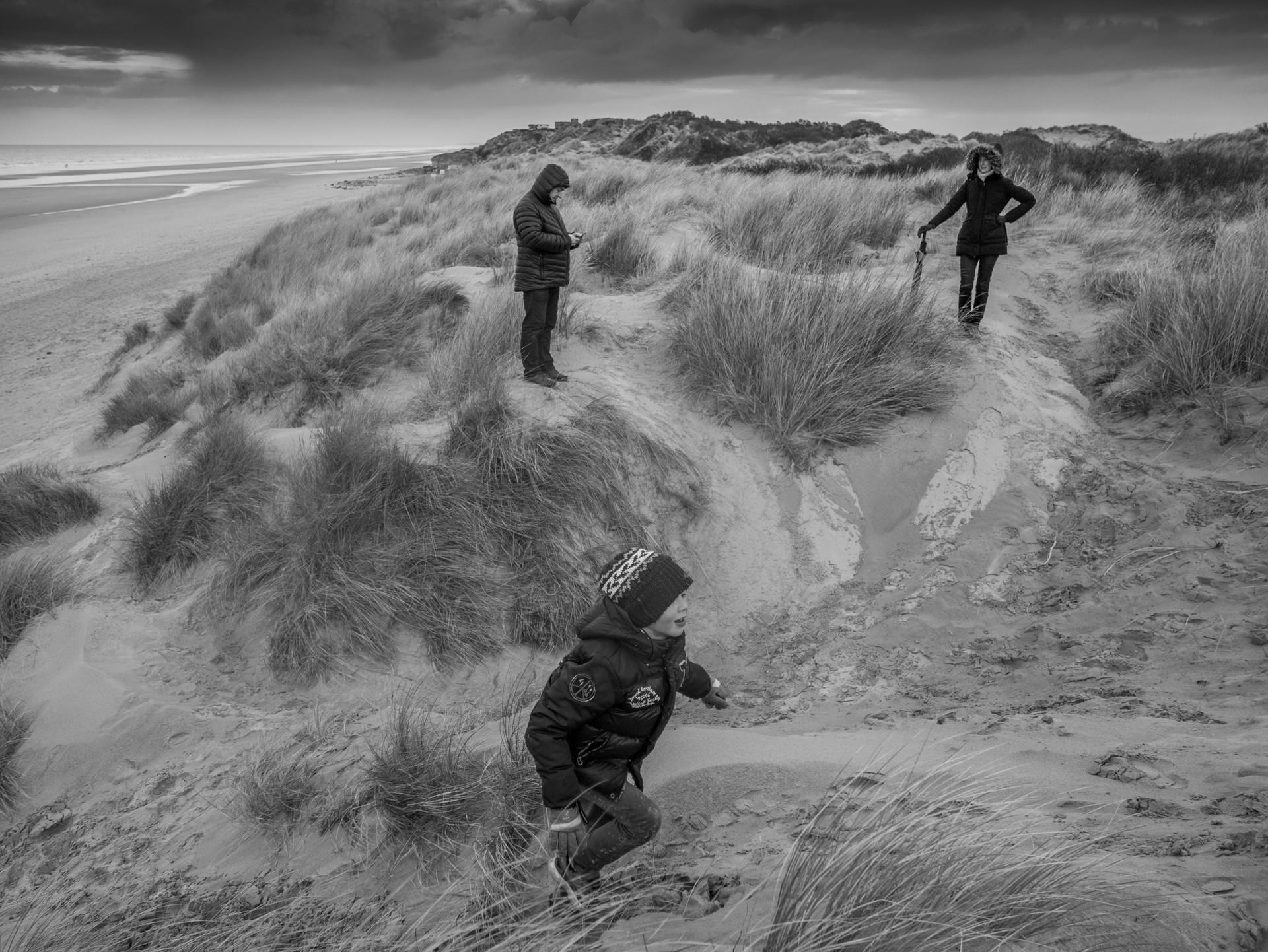 Au dos des dunes