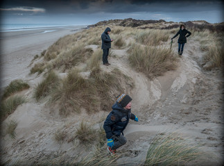 Sur les dunes de Dunkerque