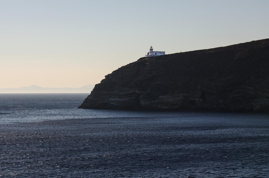 Sur la mer des Cyclades, Grèce