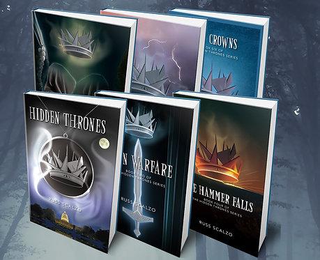 Hidden Thrones Series 6 Book Set