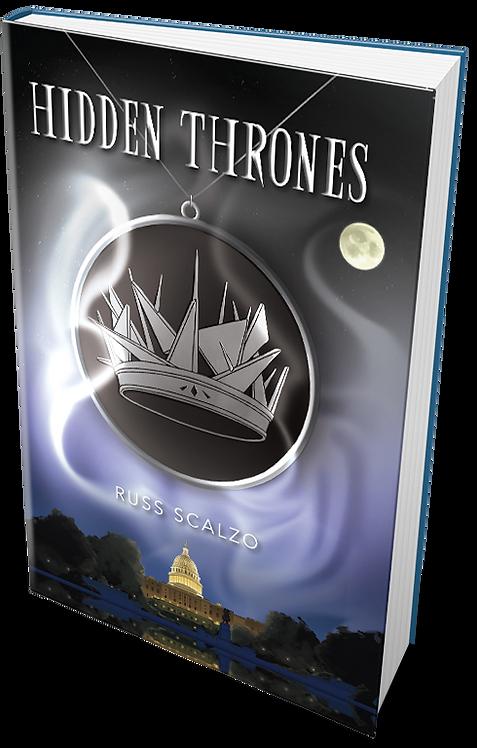 Hidden Thrones AutographedInscribed Copy