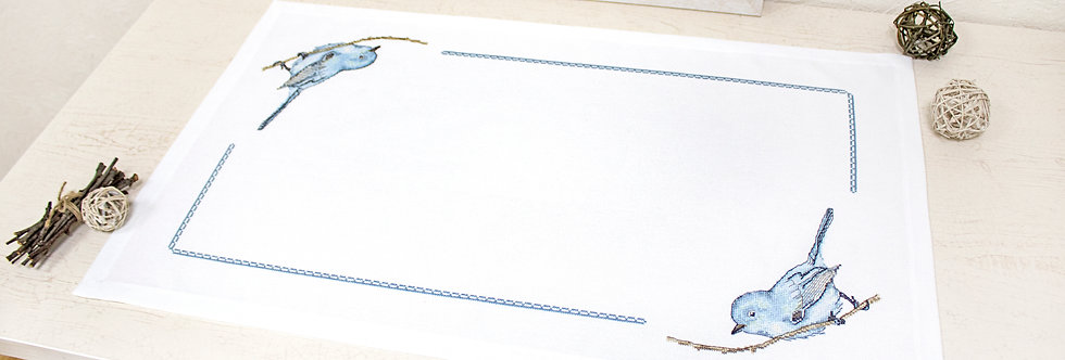 FM016 Bluebird - Tablecloth