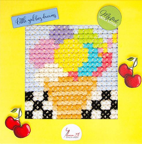 X12 Ice-cream - Cross Stitch Kit Luca-S