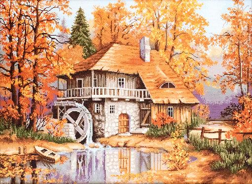 B481 Autumn Landscape - Cross Stitch Kit Luca-S