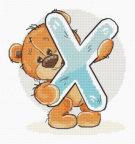 "B1225 Letter ""X"""