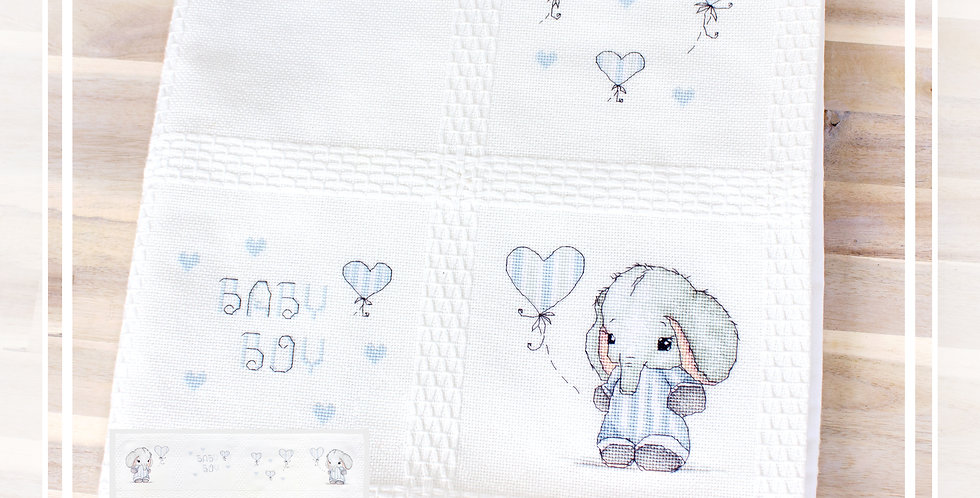 BO102 Baby Blanket | Cross Stitch Kit