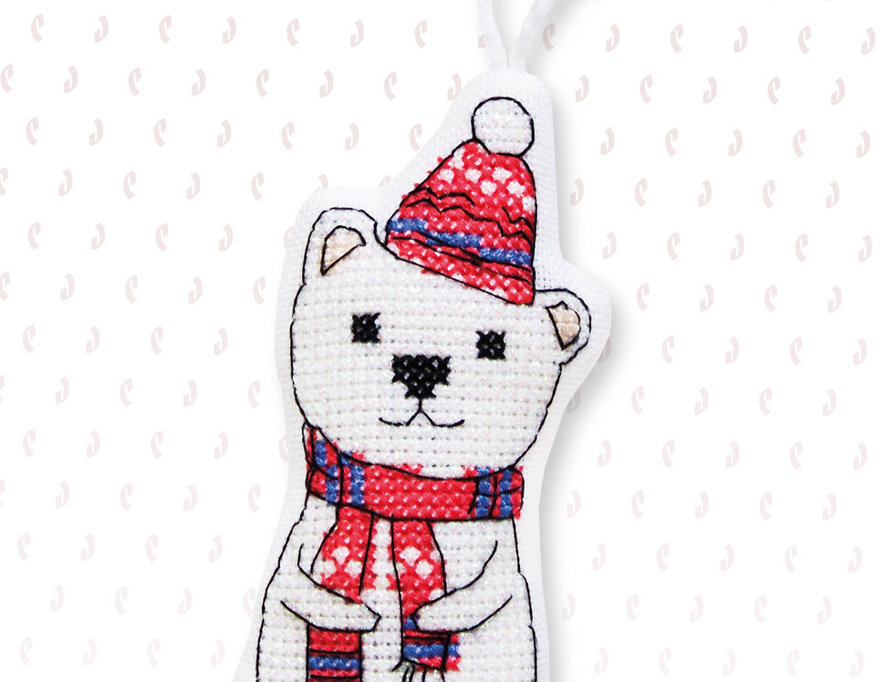 JK008 Bear - Cross Stitch Kit Luca-S