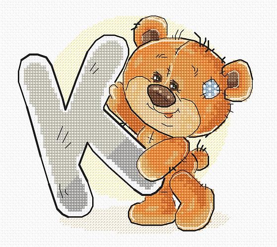 """B1212 Letter """"K"""""""