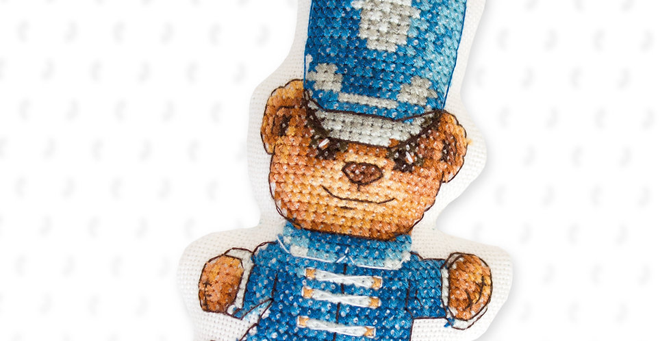 JK026 Bear - Cross Stitch Kit Luca-S