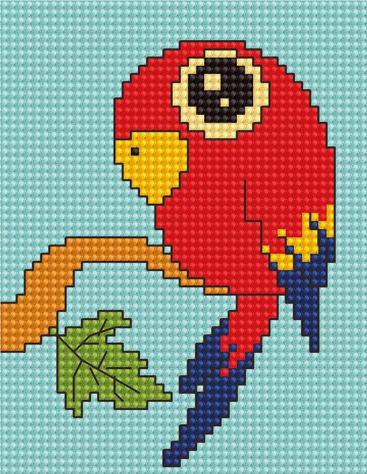 B083 - Cross Stitch Kit Luca-S