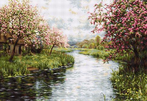 B545 Spring Landscape