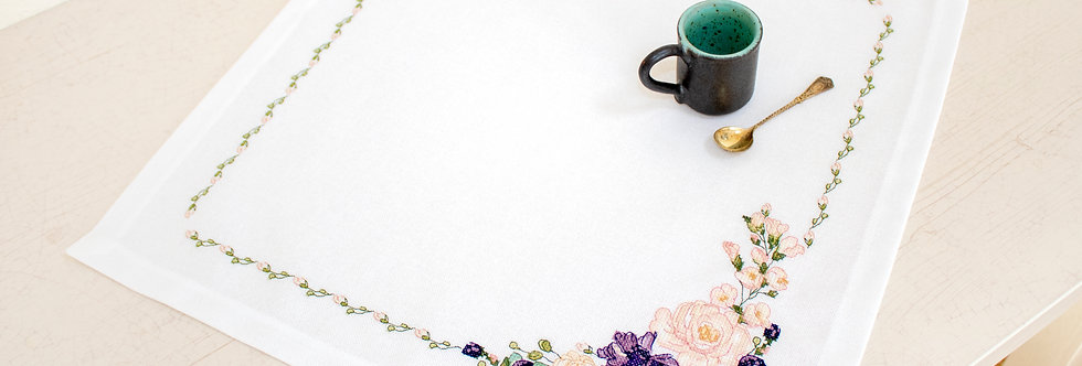 FM021 Spring flowers - Tablecloth Luca-S
