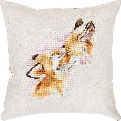 Foxes - Pillowcase