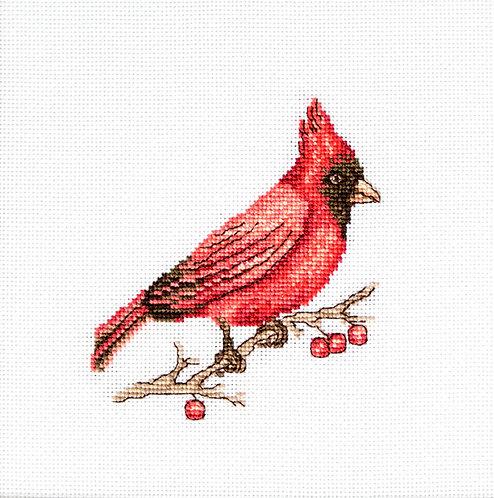 B1156 Cardinal kit de punto de cruz Luca-S