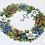 Thumbnail: K-104 Winter Wreath - Merejka - Kit de punto de cruz