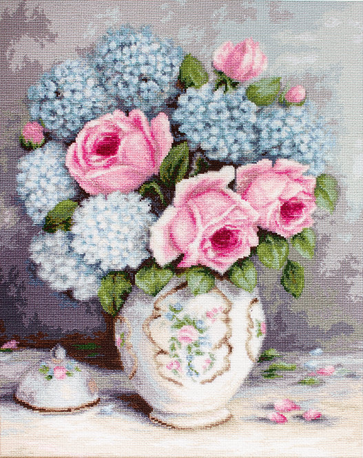 BA2322 Roses & Hydrangeas