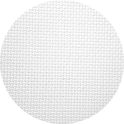 Aida fabric 14 ct. color 100 (blanco)