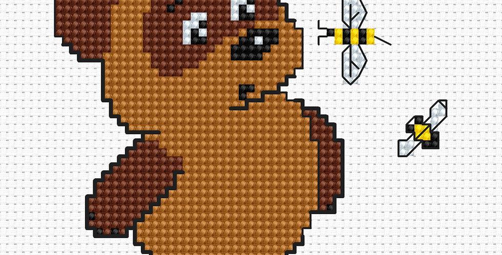 B075 - Cross Stitch Kit   Beginners