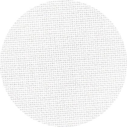 Murano Lugana 32 ct. cross stitch fabric with white