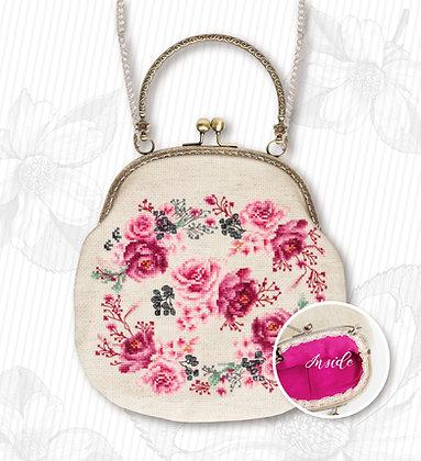 Bag - Pink roses