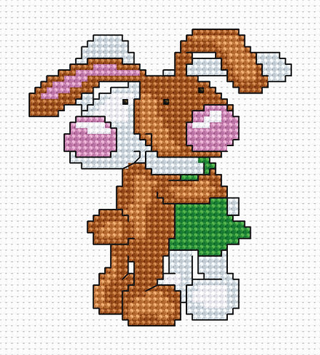 B040 - Cross Stitch Kit Luca-S