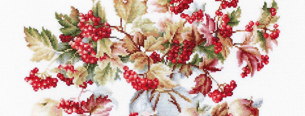 B2272 Guelder Rose - Cross Stitch Kit Luca-S