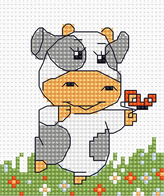 B072 - Cross Stitch Kit Luca-S