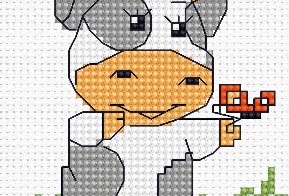 B072 - Cross Stitch Kit | Beginners