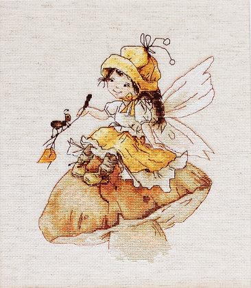The fairy with mushroom