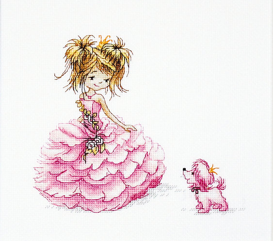 B1056 The Princess - Cross Stitch Kit Luca-S