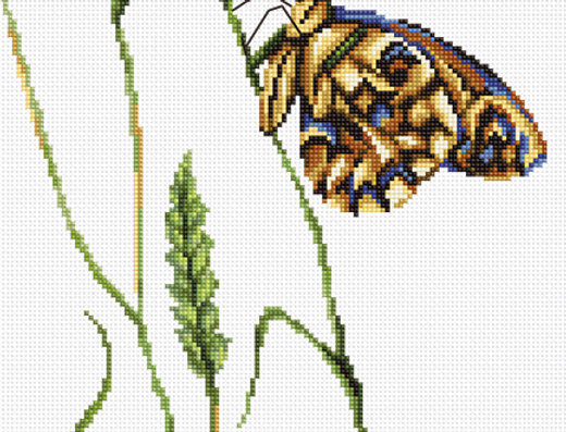 B2245 The spirit of summer - Cross Stitch Kit Luca-S