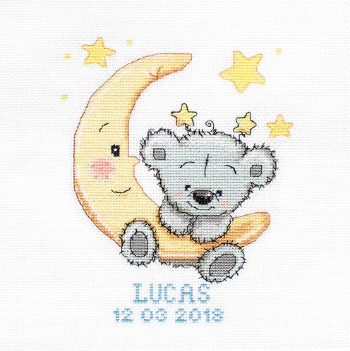 B1146 Lucas kit de punto de cruz Luca-S