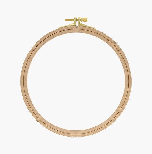 110-4 Wooden hoop with screw (Ø): 190 mm / Nurge
