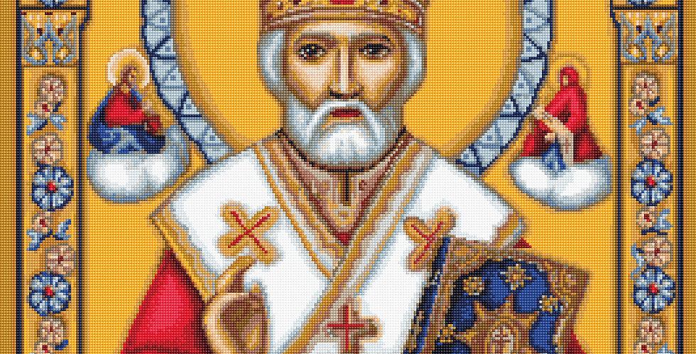 B421 Saint Nicholas - Cross Stitch Kit Luca-S
