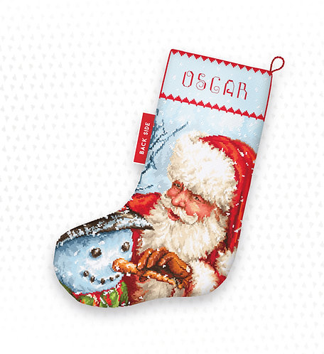 LETI 921 Christmas Stocking - Calcetín de Navidad LETISTITCH