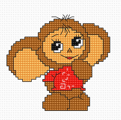 B066 - Cross Stitch Kit Luca-S