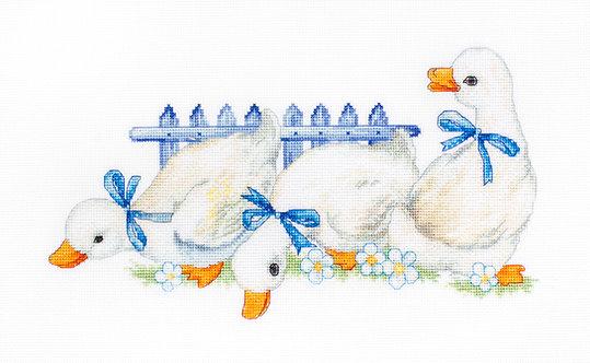 B1143 Three geese