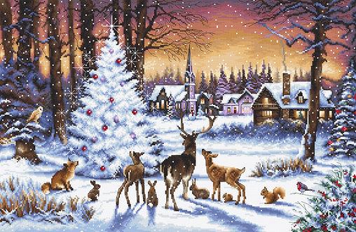 LETI 947 Christmas Wood