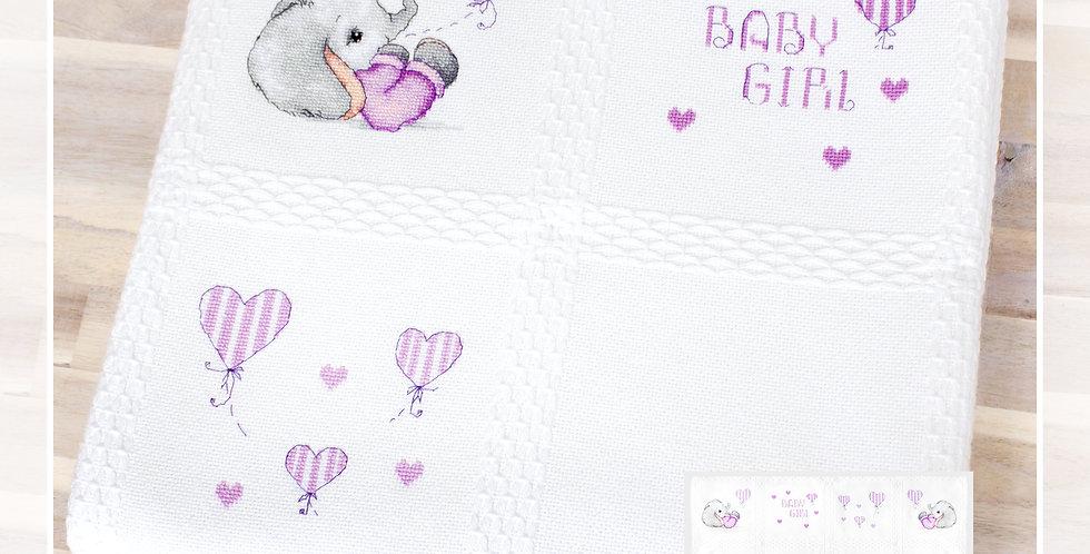 BO100 Baby blanket - Cross Stitch Kit Luca-S