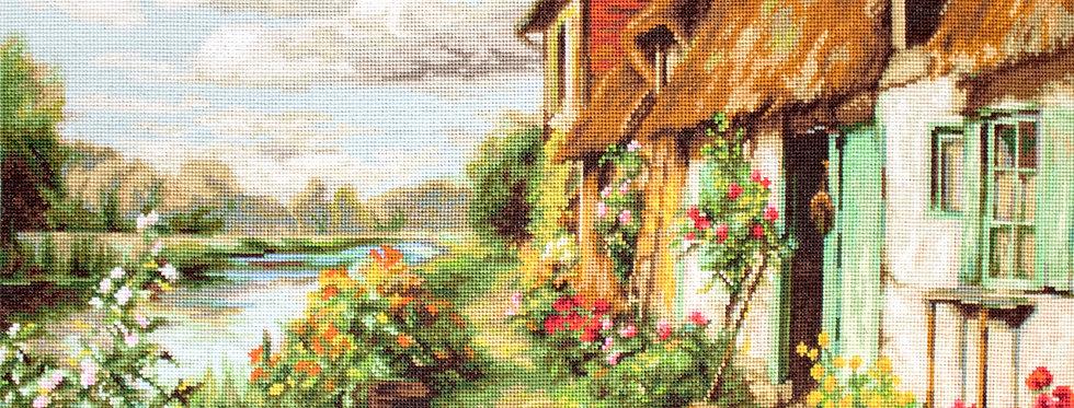 B571 Summer Landscape - Cross Stitch Kit Luca-S