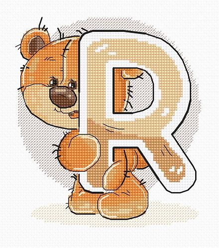 "B1219 Letter ""R"""
