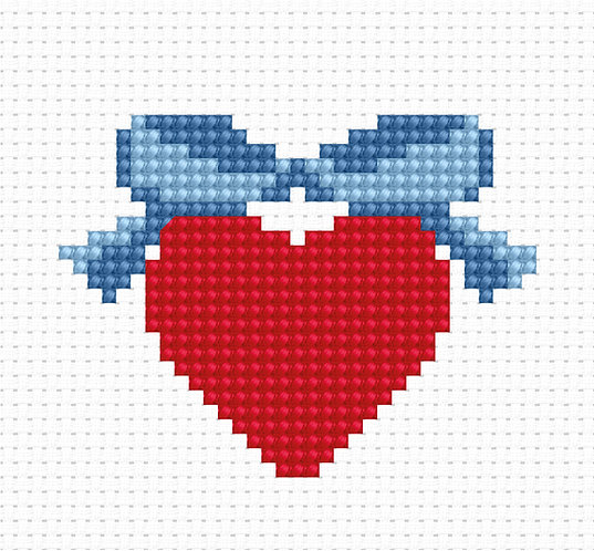 B001 - Cross Stitch Kit Luca-S