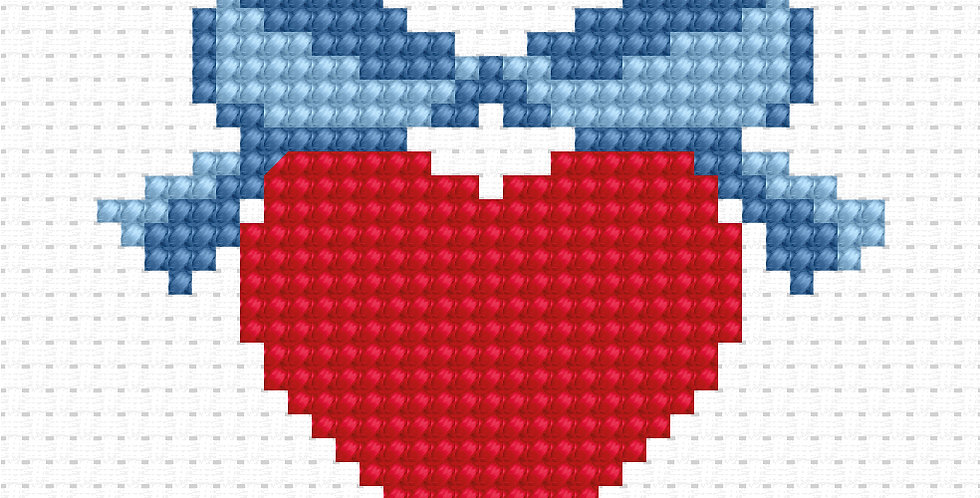 B001 - Cross Stitch Kit | Beginner