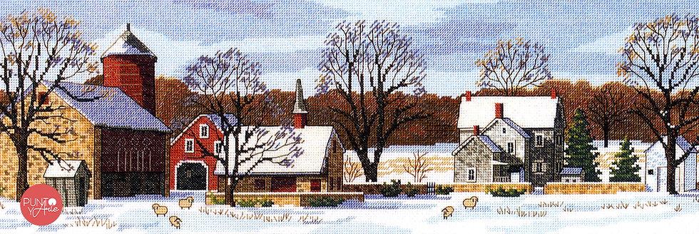 Scenic Farm - 03841 Dimensions - Kit de punto de cruz
