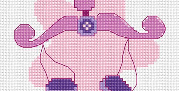 B056 Libra - Cross Stitch Kit