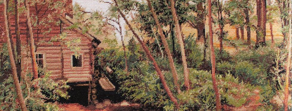 G456 Landscape, reproduction of Shishkin - Petit Point Kit Luca-S