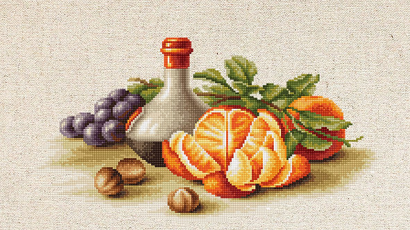 BL2250 Still Life with Oranges