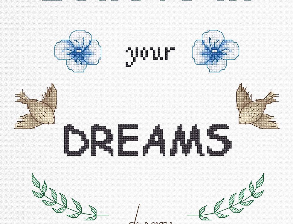 B1166 Slogan - Cross Stitch Kit
