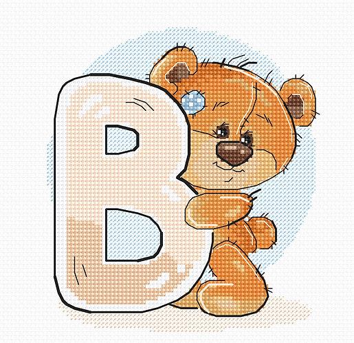 """B1203 Letter """"B"""""""